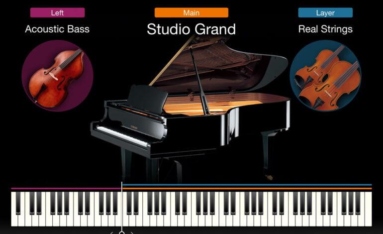 Yamaha Smart Pianist - Voices