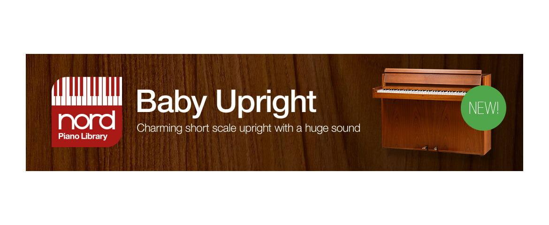 Nord Piano Library – nowa barwa: Baby Upright