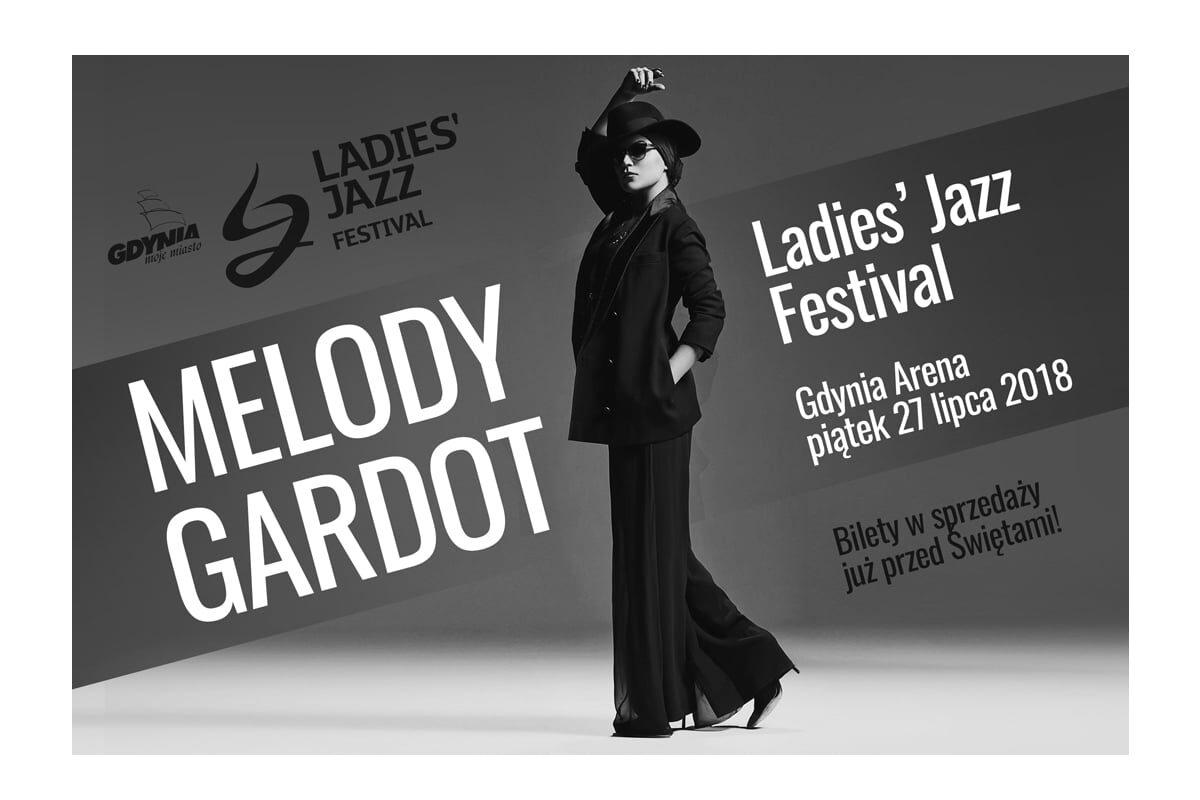 Melody Gardot na Ladies' Jazz Festival 2018 w Gdyni