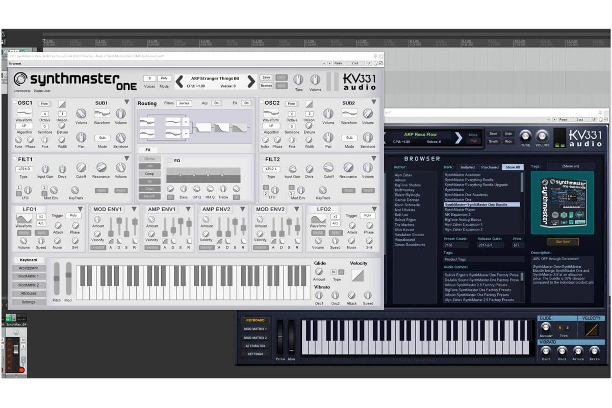 KV331 Audio SynthMaster One v1.1 – aktualizacja