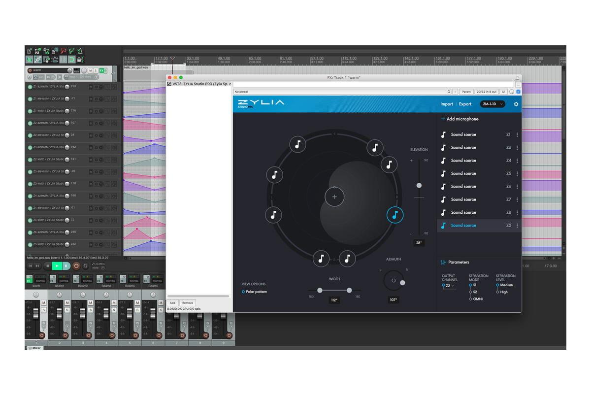 ZYLIA Studio PRO – wtyczka VST/AU dla ZM-1