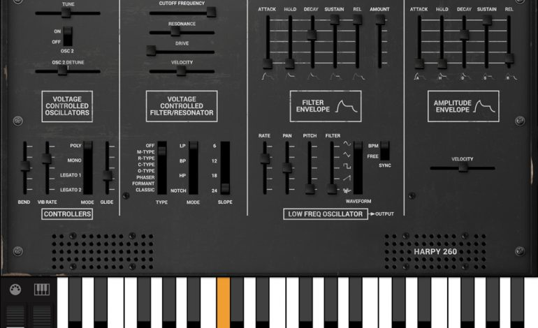 IK Multimedia Syntronik Harpy260