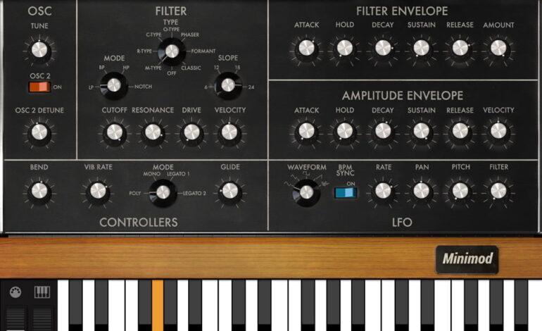 IK Multimedia Syntronik Minimod