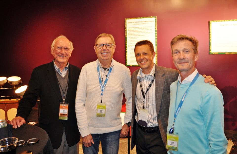 od lewej: John Beck, Thomas Siwe, Brian Zator (obecny prezydent PAS) i Piotr Sutt