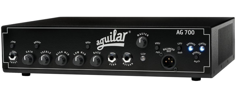 Aguilar AG 700 – nowy wzmacniacz basowy