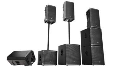 Electro-Voice ELX200 – nowe aktywne zestawy głośnikowe