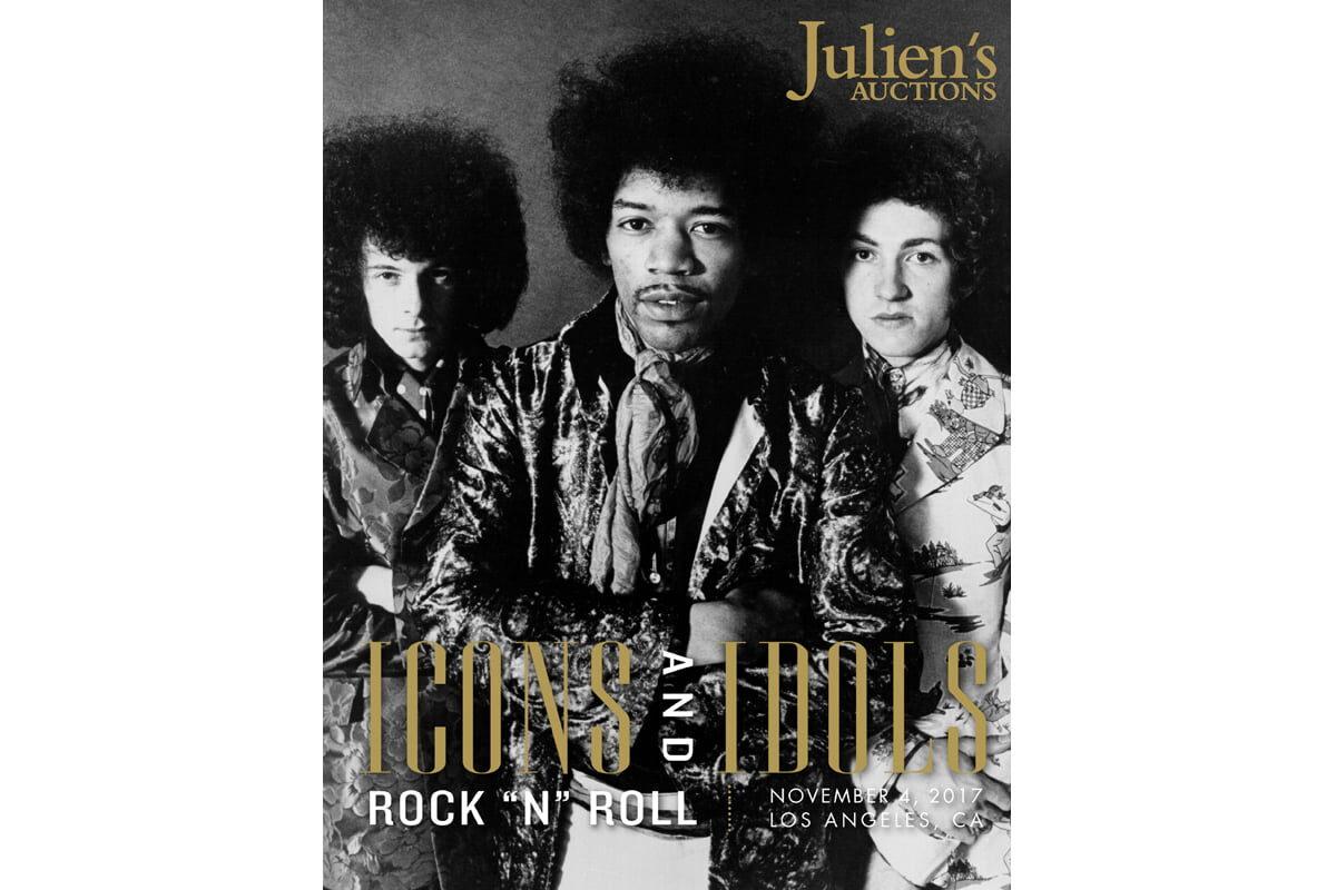 "Listopadowa aukcja ""Icons & Idols: Rock'n'Roll"""