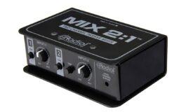 Radial MIX 2:1 – pasywny mikser/sumator