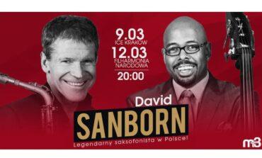 David Sanborn na dwóch koncertach w Polsce