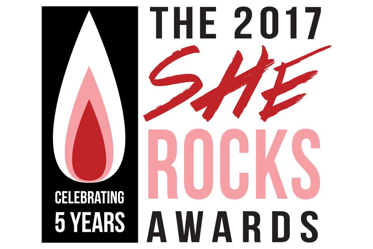She Rocks Awards 2017