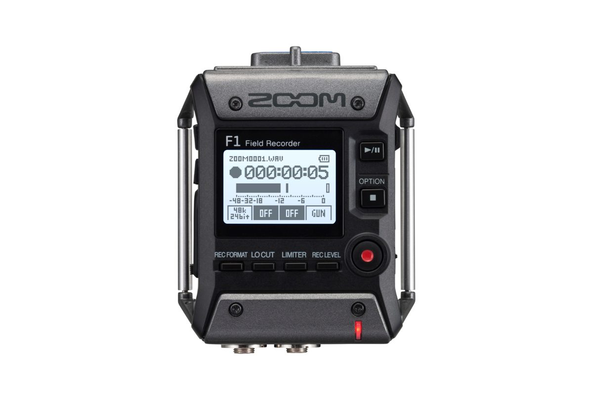 Zoom F1 – nowy rejestrator audio / F1-SP F1-LP