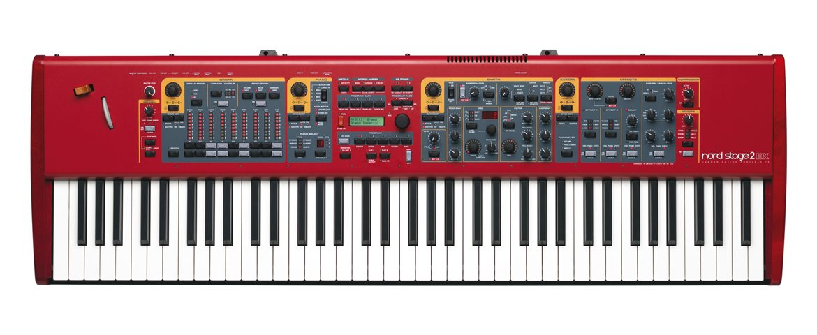 Clavia Nord Stage 2 EX – test stage piano
