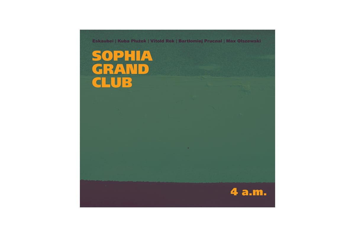 Sophia Grand Club – Vitold Rek powraca z nowym zespołem i płytą