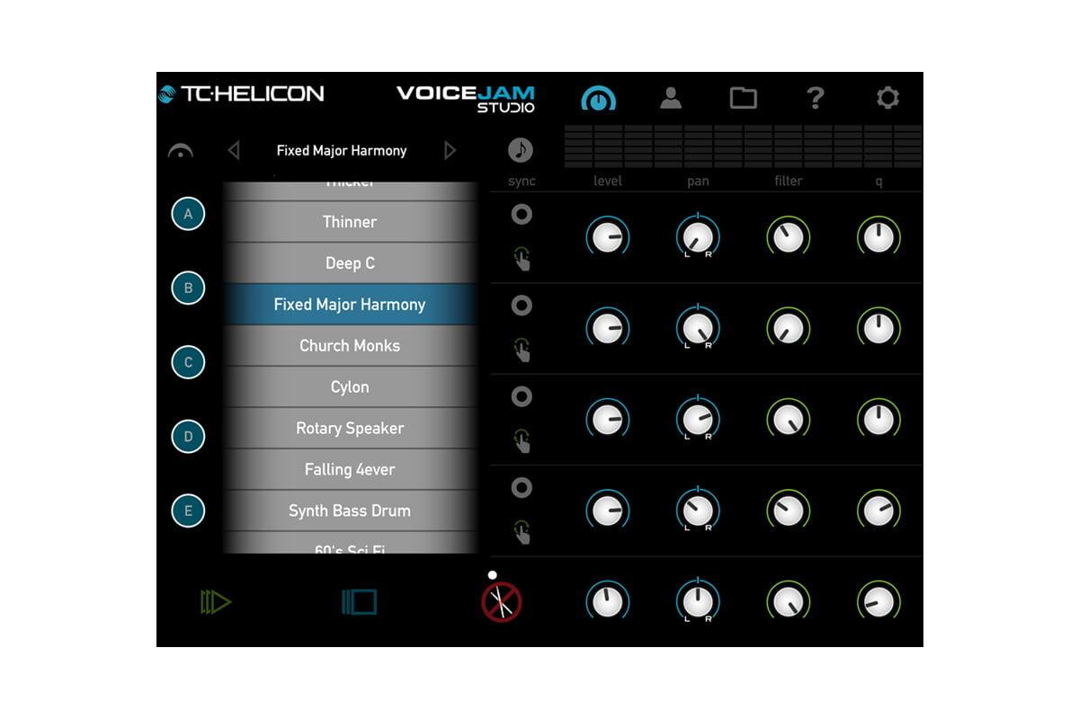 TC-Helicon VoiceJam Studio – test aplikacji iOS