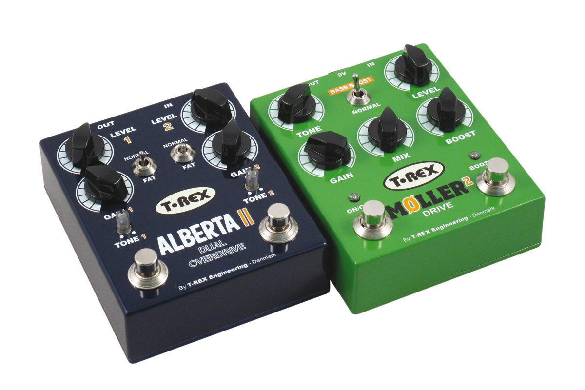 T-Rex Møller 2, Alberta II – test efektów gitarowych