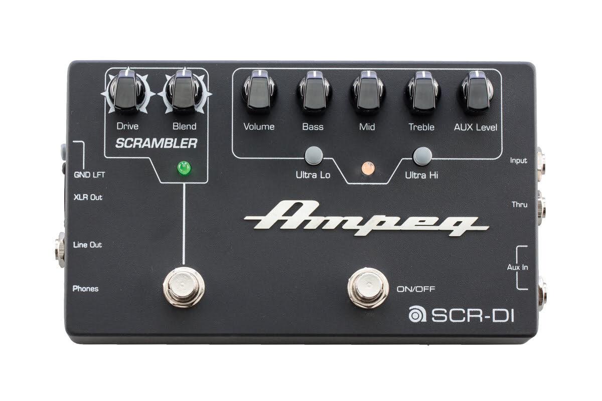 Ampeg SCR-DI – test przedwzmacniacza basowego