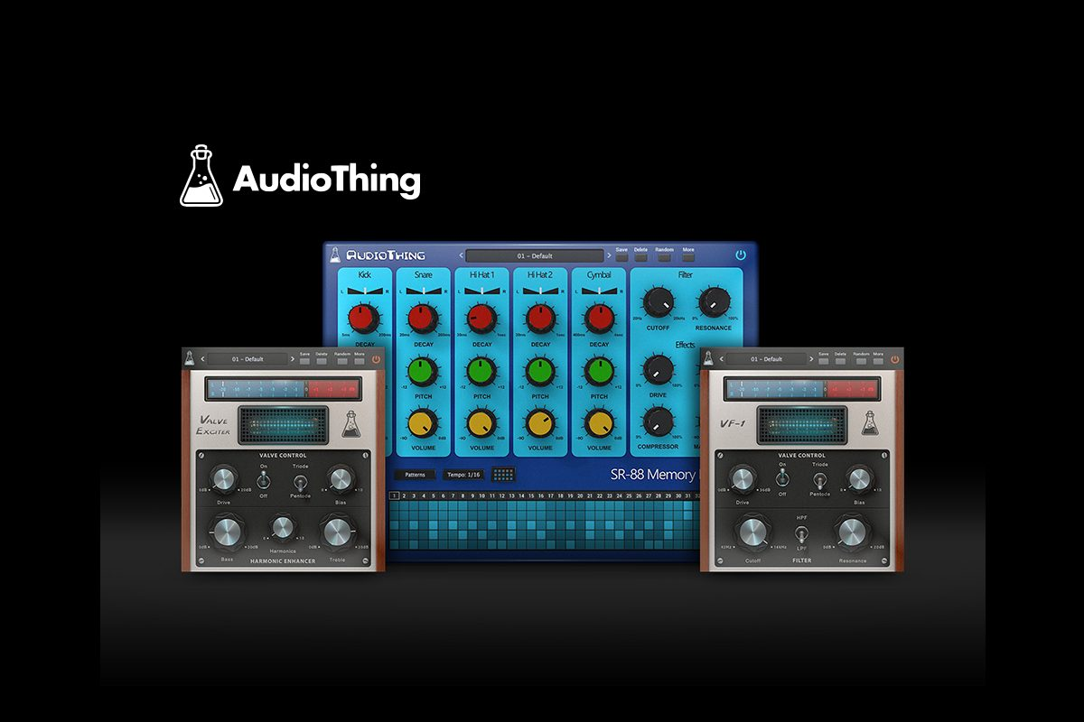 Plugin Collective luty/marzec – trzy wtyczki AudioThing