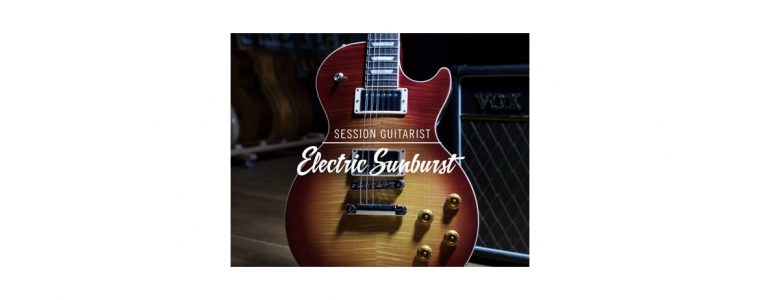 Native Instruments SESSION GUITARIST – ELECTRIC SUNBURST