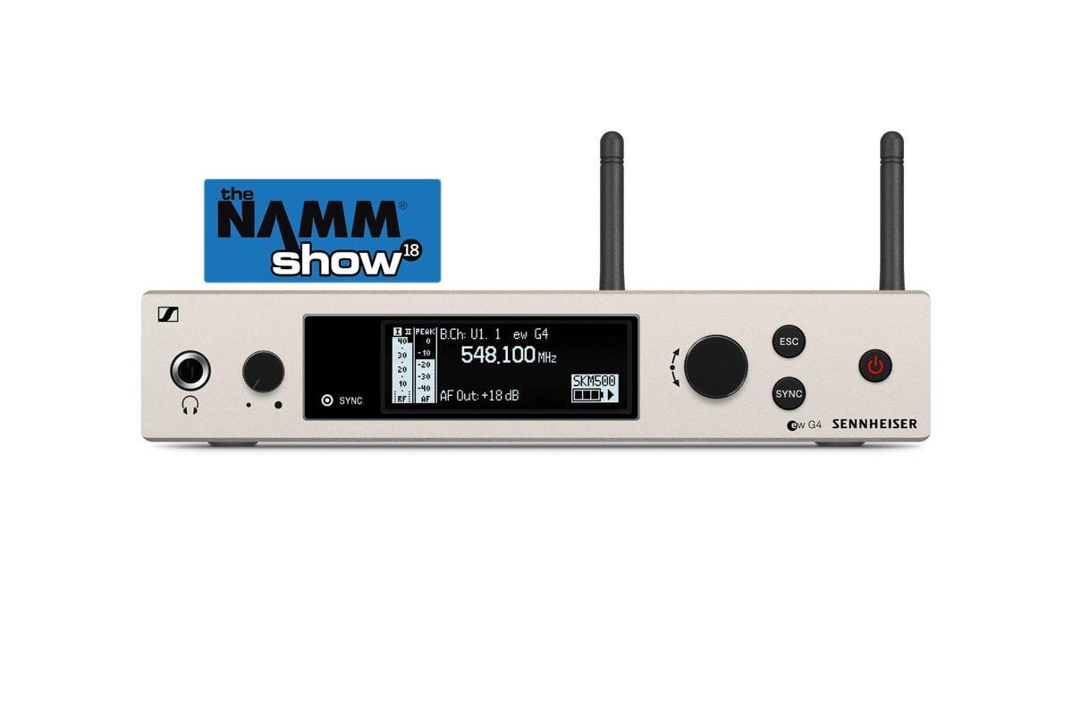 Sennheiser evolution wireless G4 na targach NAMM 2018 – wideo
