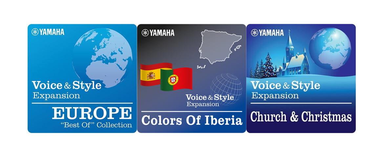 Yamaha Genos – darmowe barwy i style
