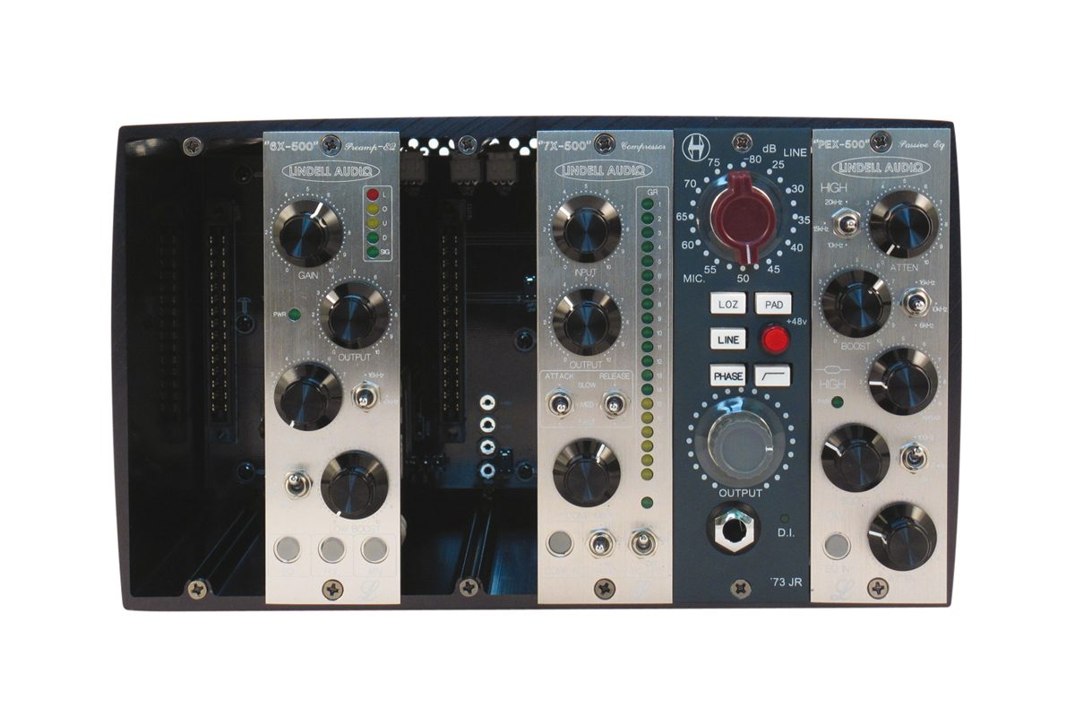 Lindell Audio 6X-500, 7X-500, PEX-500 / Heritage Audio '73 JR – test modułów 500