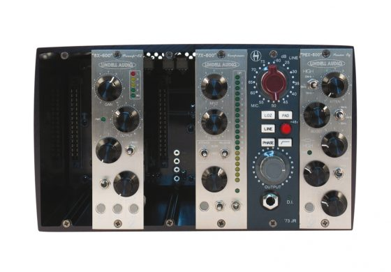 Lindell Audio 6X-500, 7X-500, PEX-500 / Heritage Audio '73 JR - test modułów 500