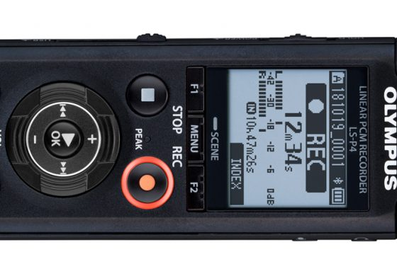 Olympus LS-P4 – nowy rejestrator audio