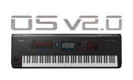 Yamaha MONTAGE OS v2.0