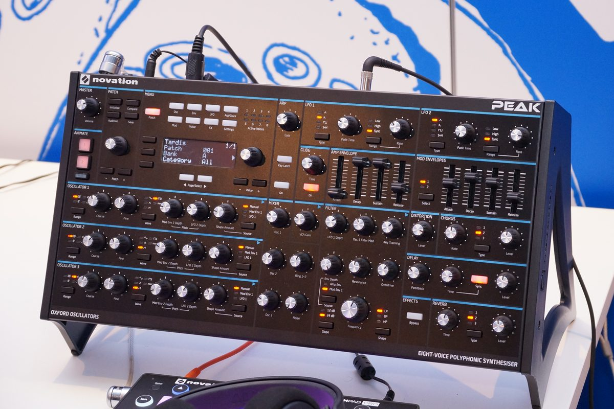 Novation Peak – nowy syntezator polifoniczny