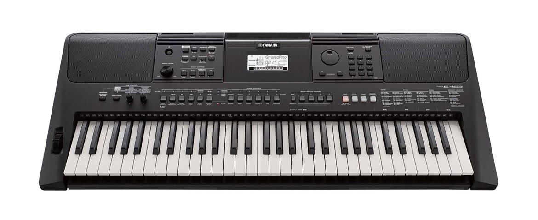 Yamaha – nowe keyboardy edukacyjne PSR-E463 i PSR-EW410