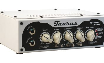 Taurus Qube-300 + TS-112F – test wzmacniacza basowego