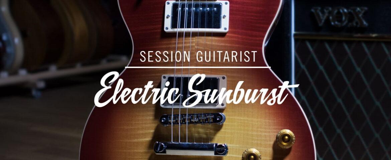 Native Instruments SESSION GUITARIST – ELECTRIC SUNBURST
