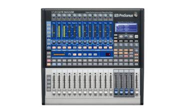 PreSonus StudioLive 16.0.2 USB – test miksera cyfrowego