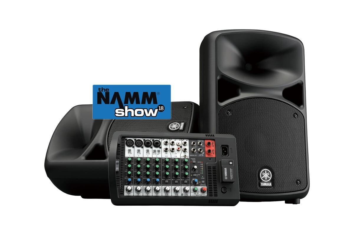 Yamaha – subwoofery DXSmkII i systemy STAGEPAS BT – wideo