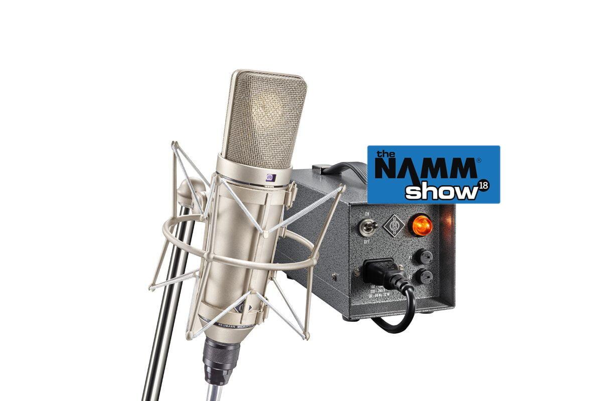 Neumann U 67 na NAMM Show 2018 – wideo