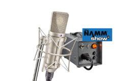 Neumann U 67 na NAMM Show 2018 - wideo