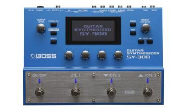 BOSS SY-300 – test syntezatora gitarowego