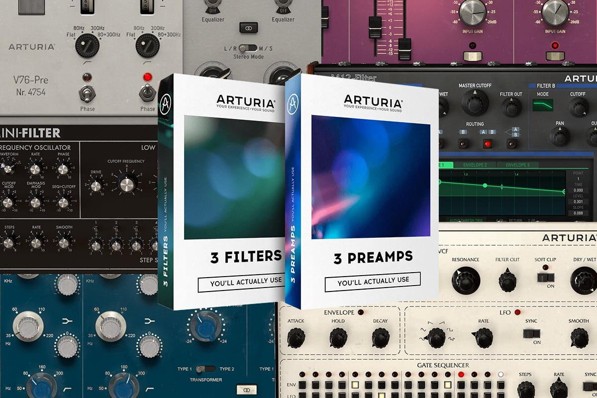 Arturia – wirtualne filtry i przedwzmacniacze