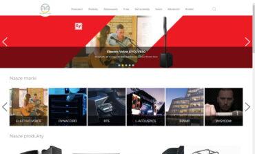Nowa strona internetowa firmy Audio Plus