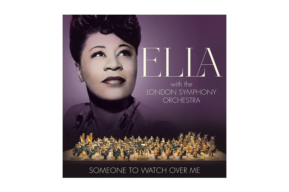 "Ella Fitzgerald with the London Symphony Orchestra ""Someone To Watch Over Me"""