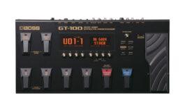 BOSS GT-100 – test procesora gitarowego