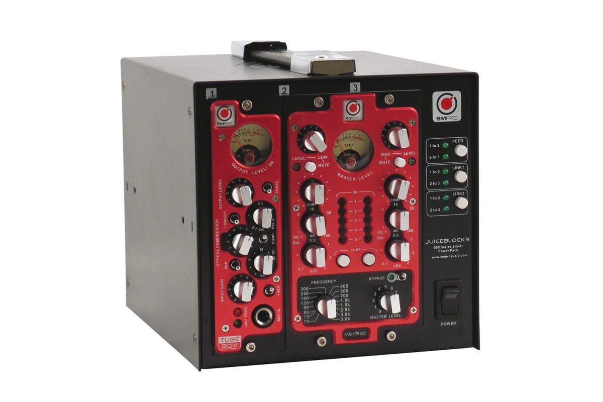 SM Pro Audio TubeBox i MBC502 – test modułów 500