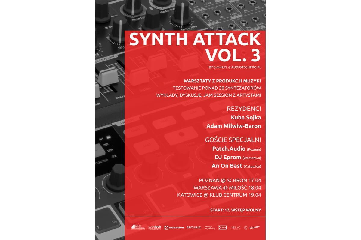 Warsztaty Synth Attack vol. 3 już w kwietniu