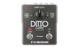 TC Electronic Ditto X2 Looper – test loopera