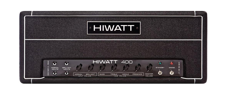Hiwatt DR401 – nowy wzmacniacz basowy