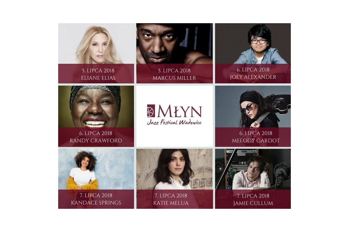 Młyn Jazz Festival 2018 – zapowiedź
