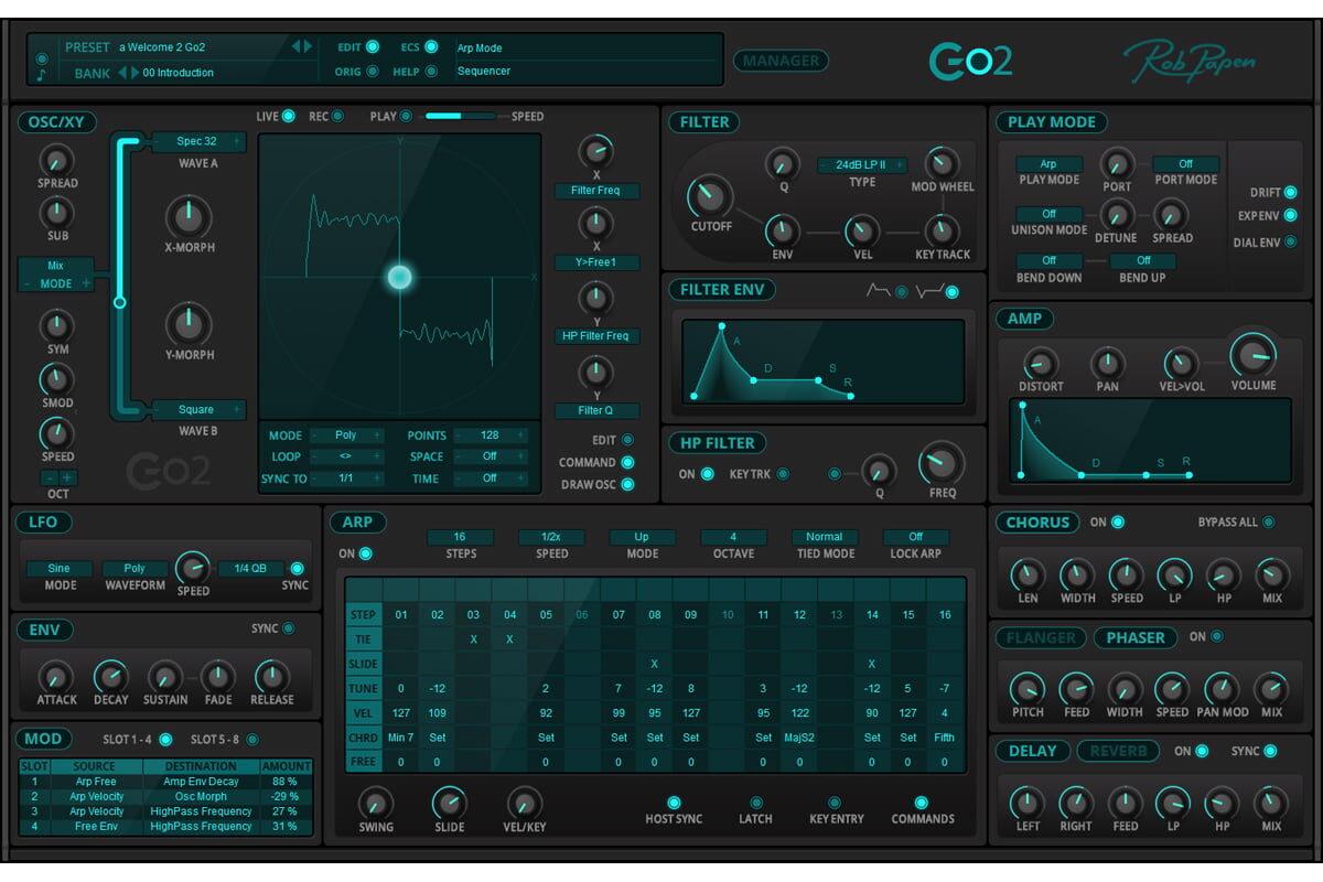Rob Papen Go2 – nowy syntezator wirtualny