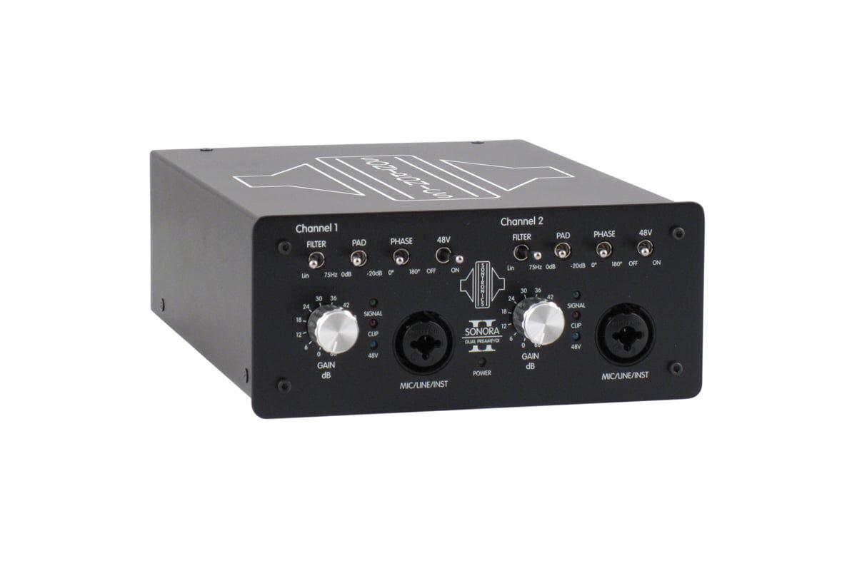 Sontronics Sonora 2 – test przedwzmacniacza mikrofonowego