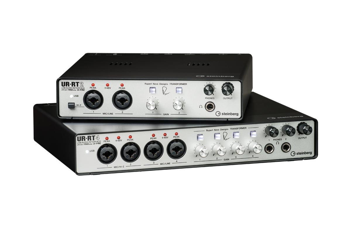 Steinberg – nowe interfejsy UR-RT2 i UR-RT4