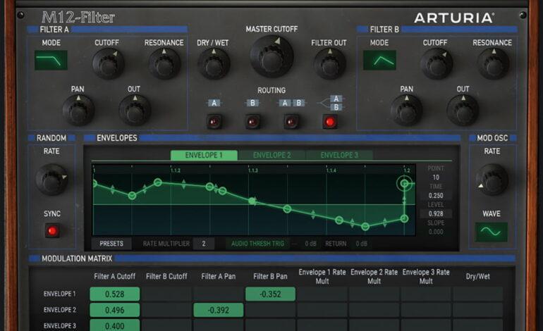 Arturia M12-Filter VST